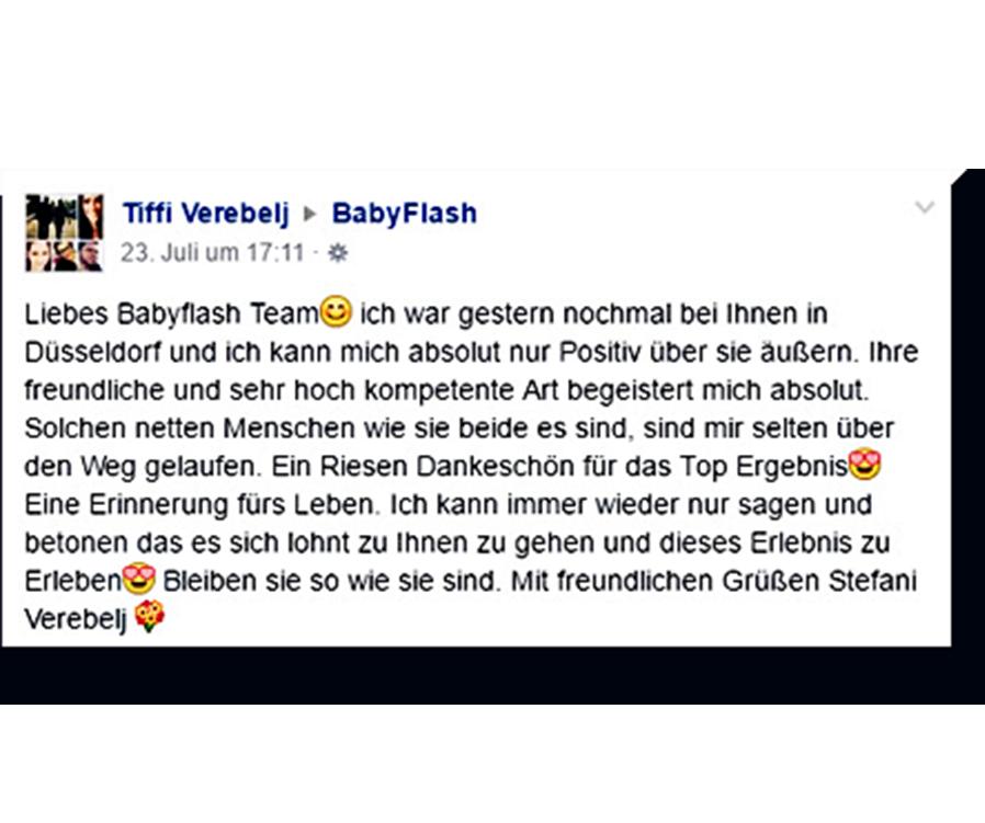 BabyFlash Erfahrung Bewertung